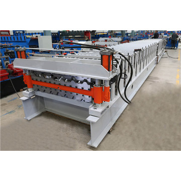 Double-Deck Galvanized Steel Roofing Forming Machine
