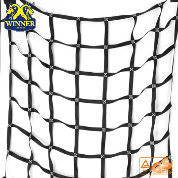 Customized for Cargo Securing Strap, Mini Ratchet Strap, Ratchet Tie Down, Ratchet Belt, Stainless Steel Ratchet Strap High Safety Customized Wholesale Car Cargo Pallet Netting Cargo Net export to Mexico Importers