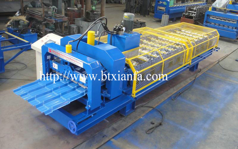 Glazed Tile Sheet Roll Forming Roof Machine