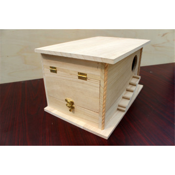 Natural Environmental Protection Big Wooden Bird House
