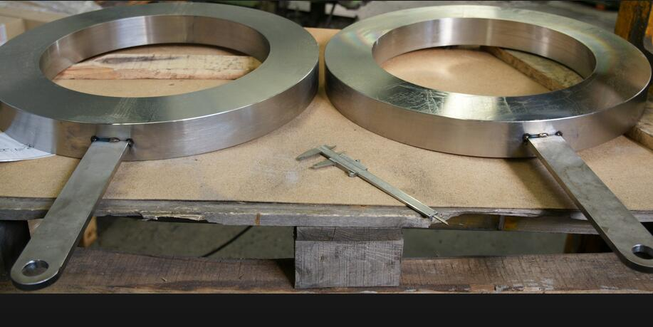 Carbon Steel Spade and Spacer Flange