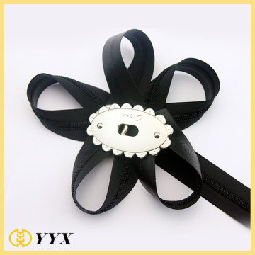 Continuous PVC zipper roll outdoor zipper chain