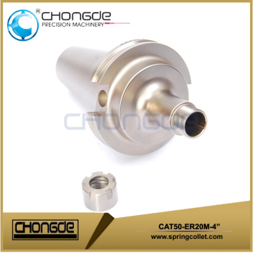 "CAT50-ER20M-4"" Collet Chuck CNC Machine Tool Holder"