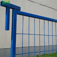 canada standard temporary fence panel top sale