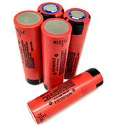 flashlight with laser battery NCR18650GA BATTERY