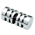High Quality Back Chrome Shower Door Knobs