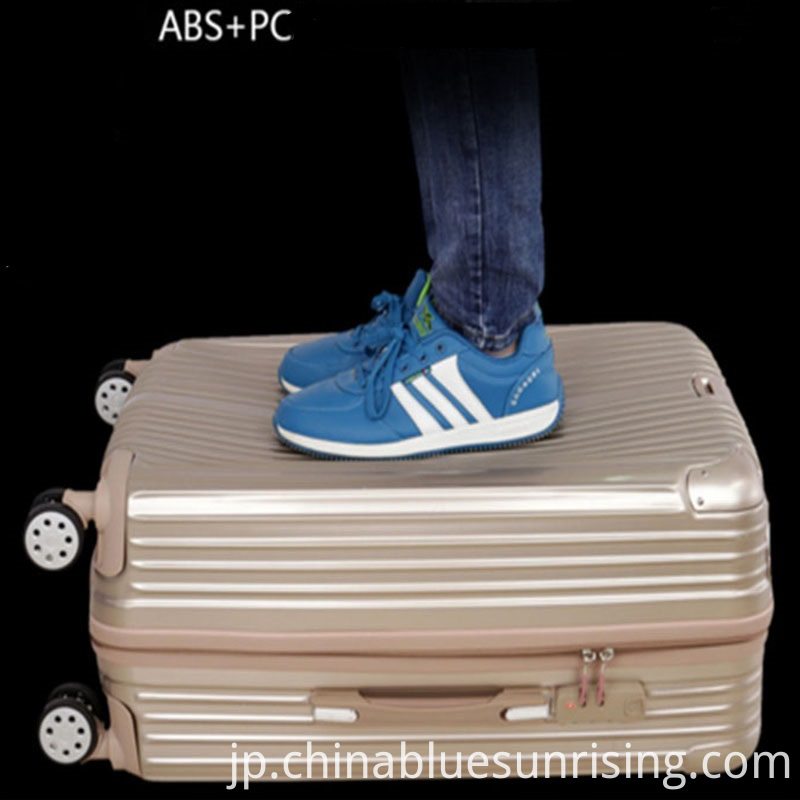 ABS+PC material luggage