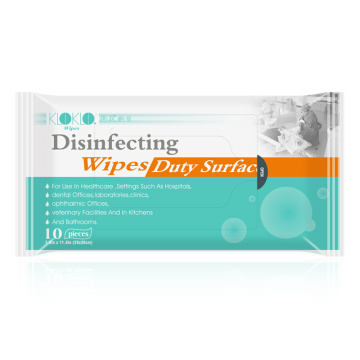 Disinfecting long-acting antibacterial wipes portable flushable toilet wet tissue
