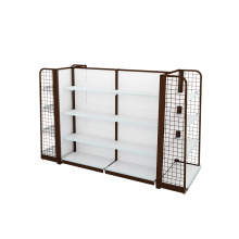 China for Metal Gondola Shelving Gondola Shelving For Pharmacy And Shop supply to South Africa Wholesale