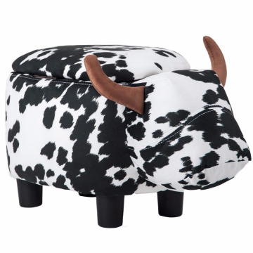 Animal shape kid's storage stool & Bins for bedroom furniture