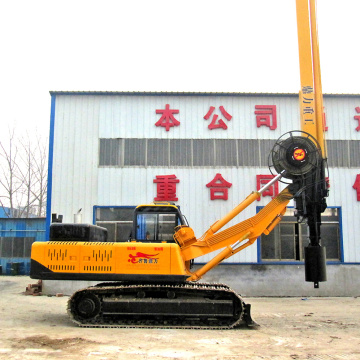 Small Hydraulic Pile Driving Rig Machine