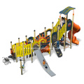 Large Modern Outdoor Play Structures equipment With Slide
