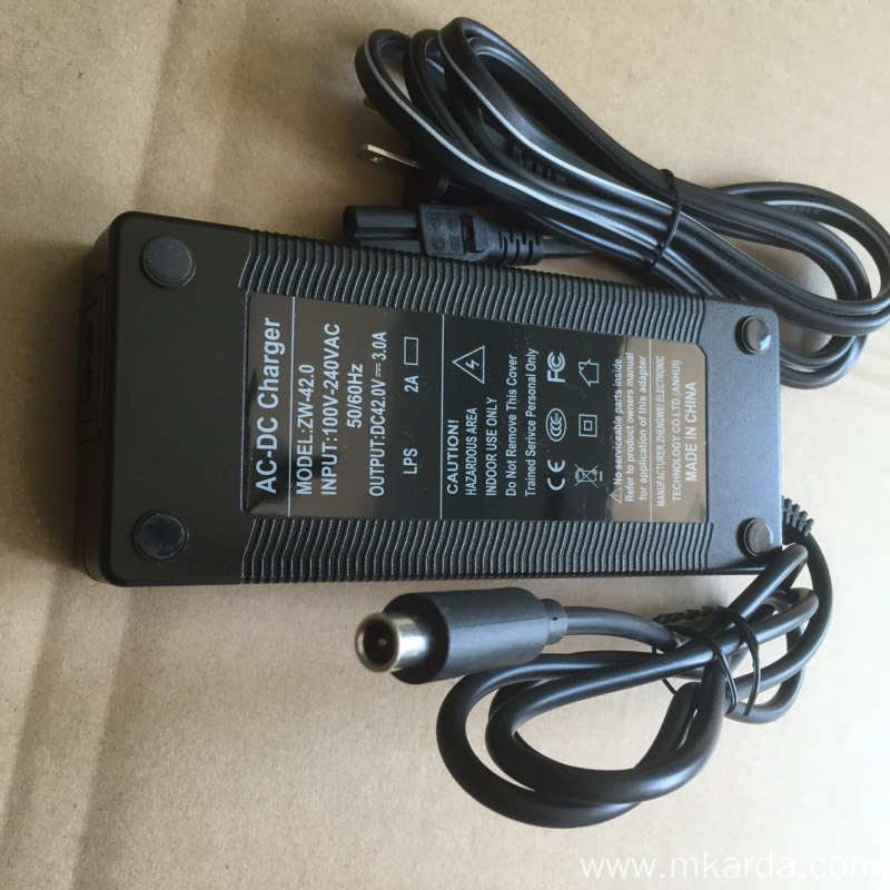 Electric Scooter Accessories Charger Power Supply