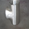 carbon steel pipe fitting din 2615 st37 seamless steel tee