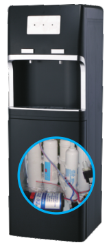 Five Stage Reverse Osmosis Filtration Water Cooler