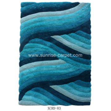 Microfiber Shag With 3D Design