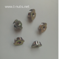 Full Thread Color Zinc plated Locking Tee Nuts