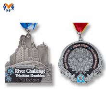 Custom half marathon finisher medals