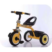 Baby Walker Tricycle Children with Bike Carrier