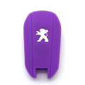 Funny soft car key case for Peugeot