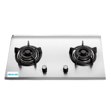 Hyper 2-Burner Built-in Gas Hob Glass