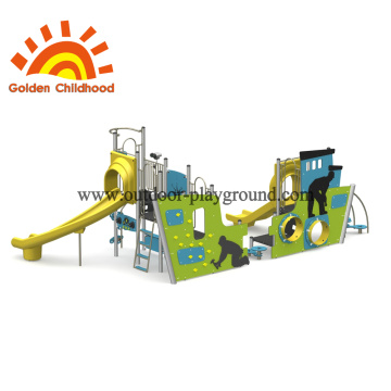 Candy Slide Outdoor Playground For Children