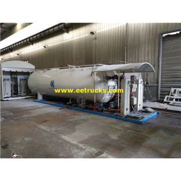 25m3 10MT Propane Skid Mounted Stations
