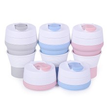 Free sample for Hot Water Bottle Reusable coffee cup collapsible silicone coffee cup mug export to Germany Manufacturer