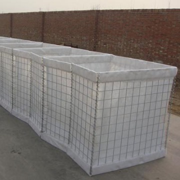 Heavily Galvanized Hesco Defensive Barrier
