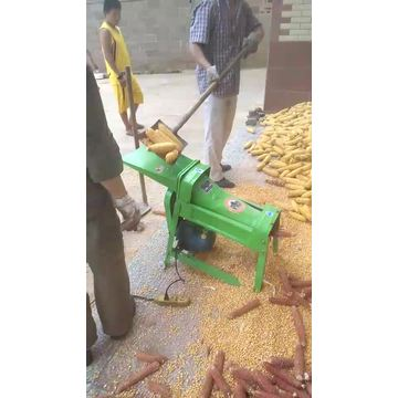 Small Maize Corn Wheat Sheller Seed Removing Machine
