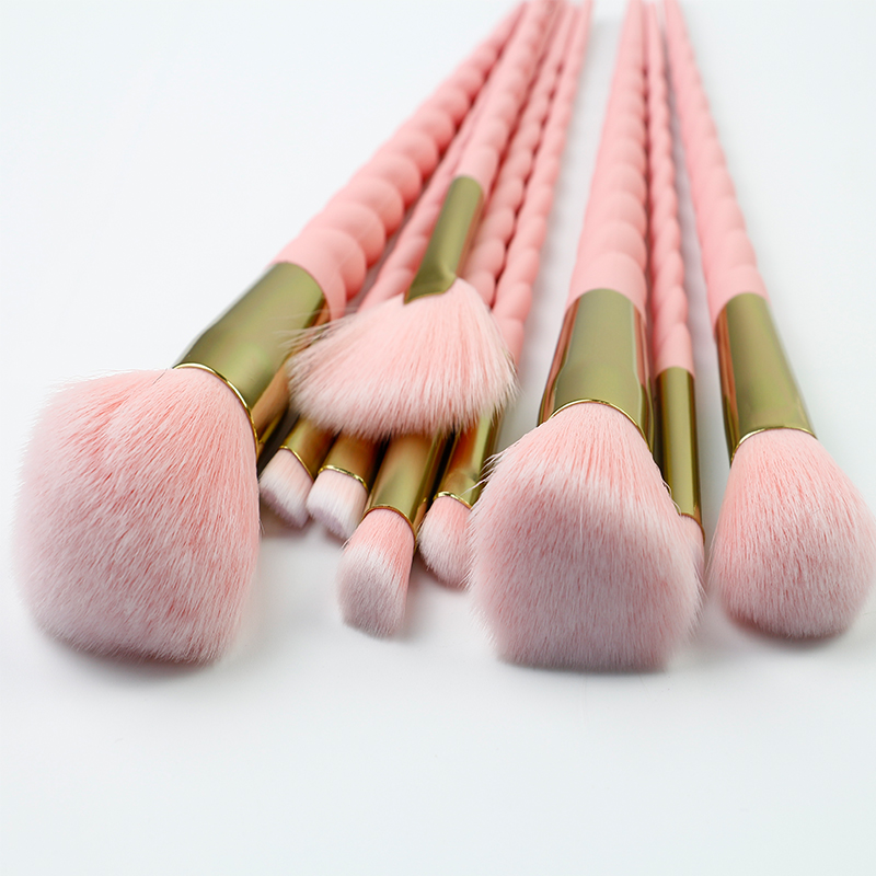 High-end Thick Hair Spiral Makeup Brush