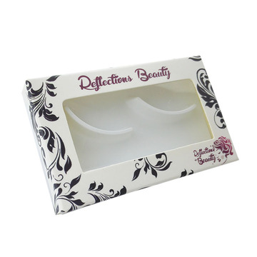Small Tray Personalized Eyelashes Paper Box