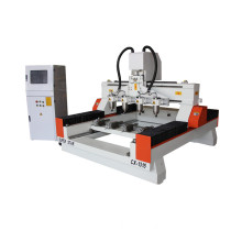 cnc wood router with rotary device