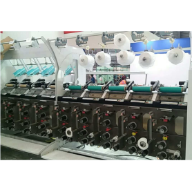 Electronic Yarn Guide Air Pocket Winder Machine