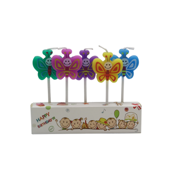Beautiful Cartoon Art Birthday Candle