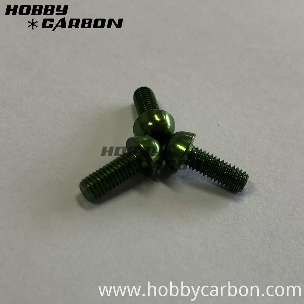 Green Aluminum Screws