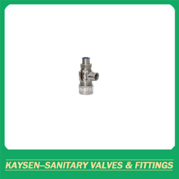Sanitary female threaded safety valves