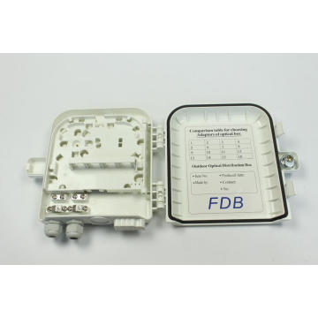Fiber Optical ABS PC Distribution Box 8C