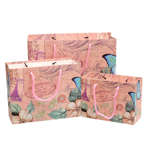 Customize craft paper bags for packing
