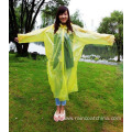Disposable PE Long Raincoat