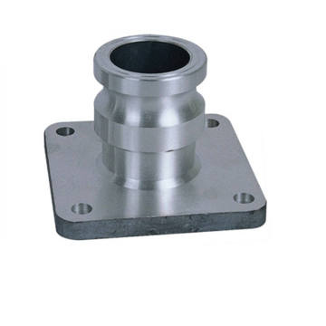 Adapter flange reducing flange exhust flange