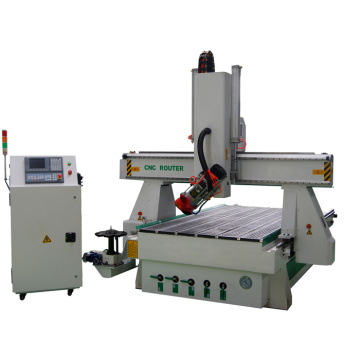 4 Axis Woodworking CNC Router Machine For Sale