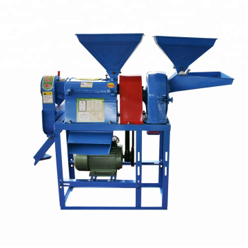Mini mobile combine rice mill machine