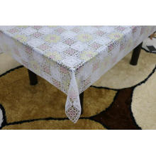 Printed runner pvc lace tablecloth by roll