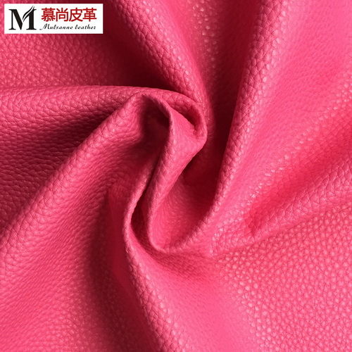 Fine MIlled Nappa Type Pu Leather