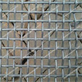 Crimped wire mesh panel