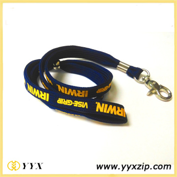 1 Color Screen Printed Tube Polyester Lanyards