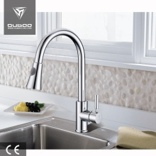 Centerset Chrome Finished Kitchen Tap With Sprayer