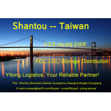 Shantou Sea Freight to Taiwan