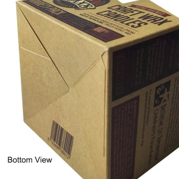 new design kraft paper wine box